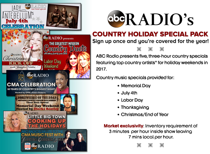 abc radios country holiday special pack abc radio